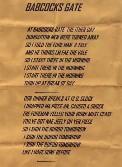 Babcock and Wilcox Poem