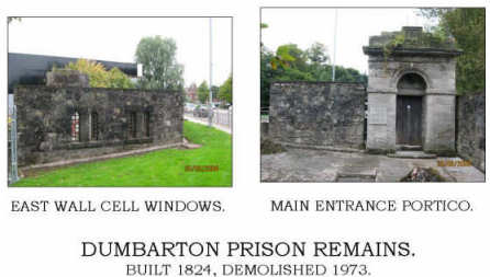 Dumbarton Prison Remains