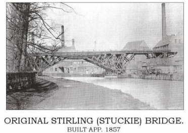 Original Stirling Bridge on the River Leven