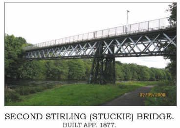 Stirling Bridge over River Leven