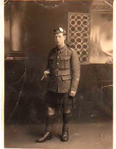 Edward Malloy WW1
