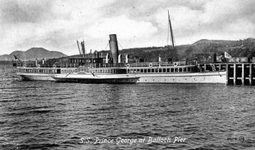 SS Prince George at Balloch Pier
