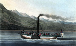 Marion Steaming on Loch Lomond