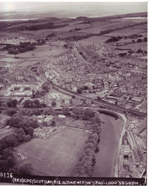 Aerial images of the Vale of Leven 08
