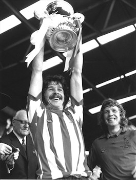 Bobby Kerr with FA cup