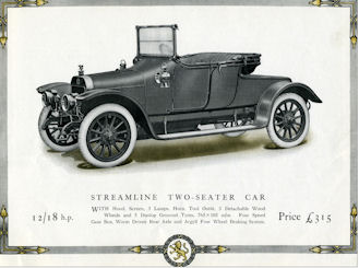 Argyll car Streamline 2 Seater