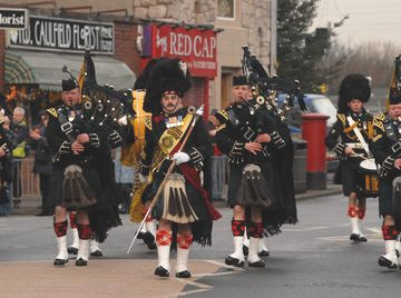 Argylls in Dumbarton