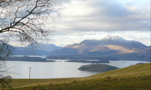 Loch Lomond and Ben Lomond
