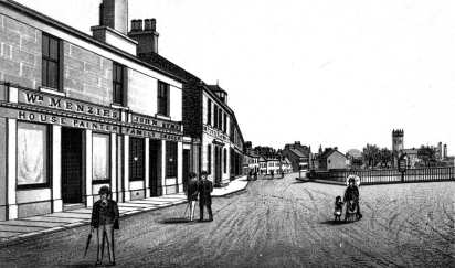 Bonhill Main Street Drawing