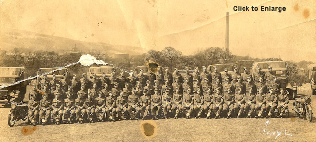 51st Highland Division in Bonhill