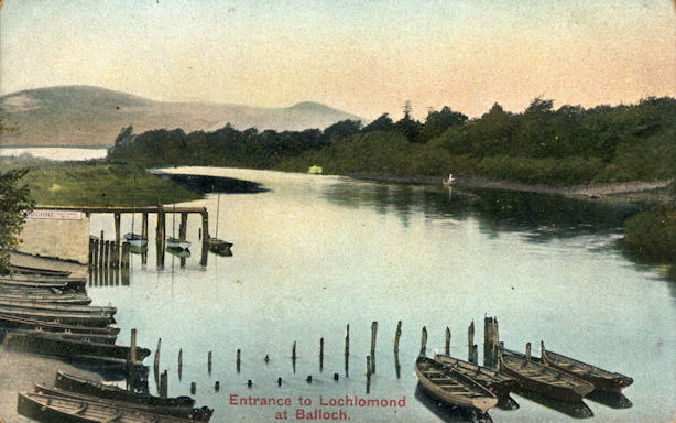 Prince Albert and Osborne Piers at Balloch