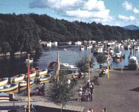 Balloch Village On Loch Lomond History 5