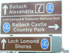 alexandria and balloch sign