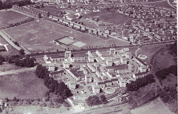 Rosshead Housing Estate in 1966
