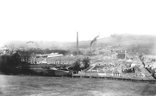 Christie Park Before War memorial was built