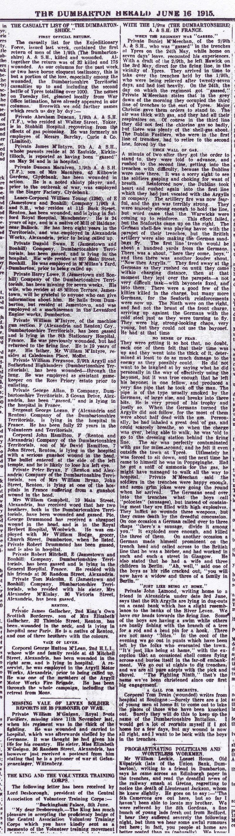 Casualties of world war i essay