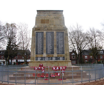 War Memorial in the Christie Park Alexandria