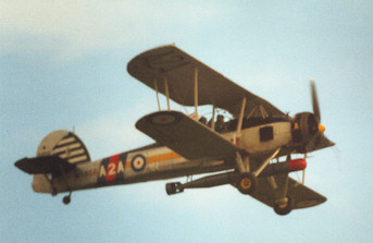 Fairey Swordfish in flight